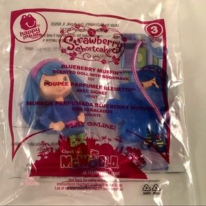 2010 McDonald's Happy Meal Toy Blueberry Muffin #3